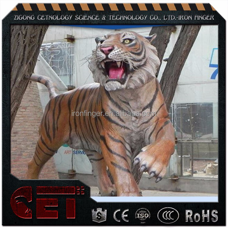 CET-A 317 Simulation Fiberglass Animals tigers with Goods in stock