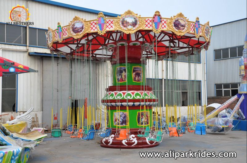 Attractive and Wonderful amusement park rides flying chair for sale