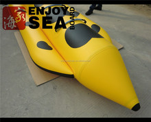 0.9mm PVC fabric inflatable water banana boat