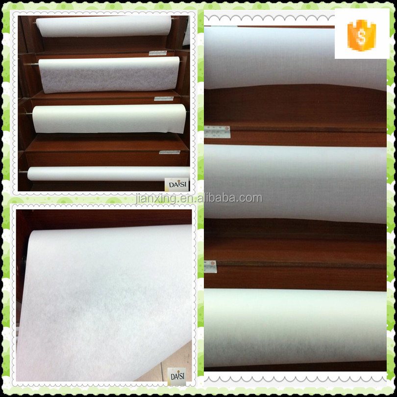 polyester embroidery fusible /non fusible interlining trade assrance supplier