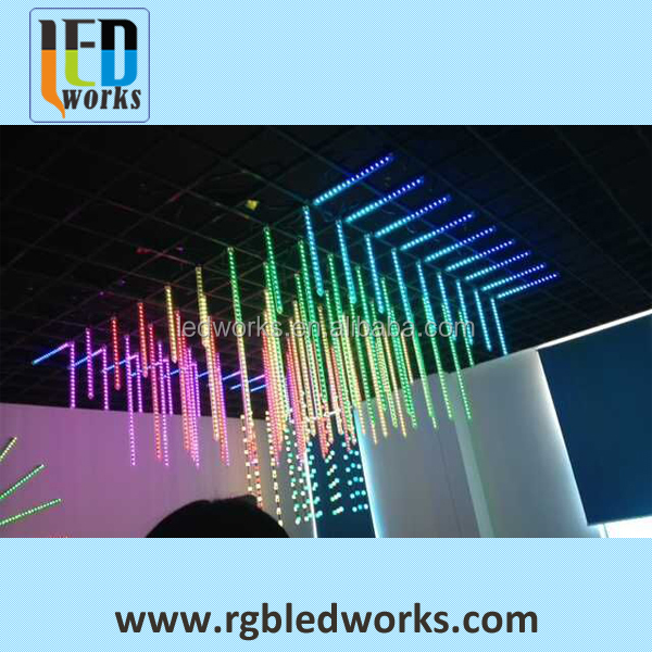 3D DMX512 led meteor light disco 3d effect led meteor light