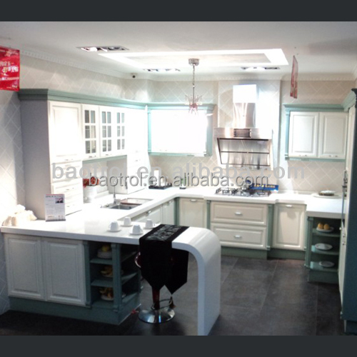 Best Quality Acrylic Solid Surface Prefabricated Kitchen Countertops (KCT-127)