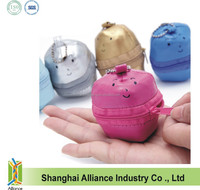 PVC material ball shaped Foldable Shopping Tote Eco Reusable Recycle Bag