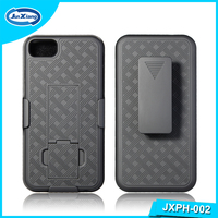 Rugged Protective Cell Phone Belt Clip Combo Kickstand Case for iphone 7