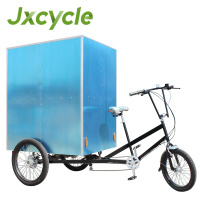three wheel electric family cargo bike trike with Pedal Sensor