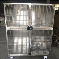 Hot Selling Promotional Very Strong Stainless Steel Ventilated Dog Cage