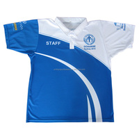 Custom Mens Sublimated Polo Shirts Promotional polo t Shirts