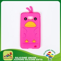 Low cost oem silicone decorative wholesale phone case