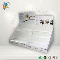 acrylic cosmetic display for eyeshadow pdq paper counter displa
