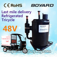 BOYARD DC 48V fridge compressor for small delivery van