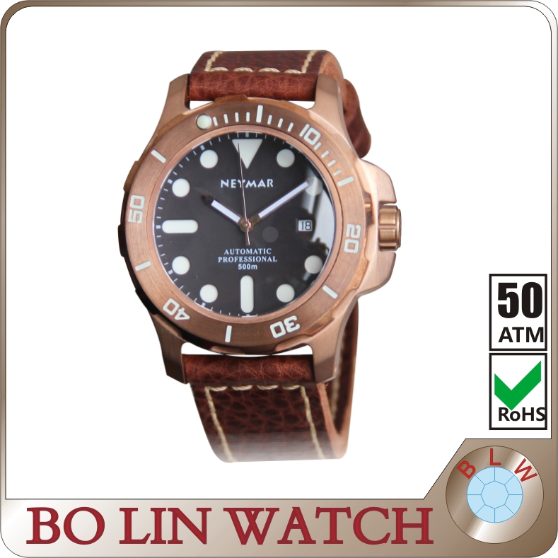 Hot selling vogue watch CuSn8 bronze watch 2016,wholesale high quality mens watches