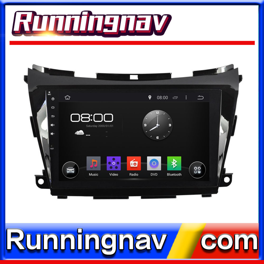 "10.1"" Android For Nissan Murano 2015 2 Din Quad Core / Qcta Core HD Car DVD Player GPS Navigation Radio"