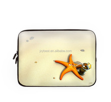 Cute soft shockproof color printing Neoprene Laptop Sleeve Notebook Computer Sleeve Bag for Macbook 15.4 inch for 15 inch laptop