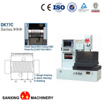 easy operation automatic spark erosion machine