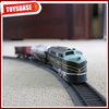 Kids Funny B/O Battery Operated 1:87 Plastic Classic Railway shopping mall amusement park electric riding pull back train