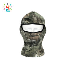 Custom Camouflage Thermal Fleece Balaclava Cycling Ski Neck Masks Hoods Paintball Hats Military Balaclava Tactical Face Mask