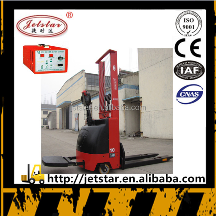 Germany quality1000kg battery operated electric stacker