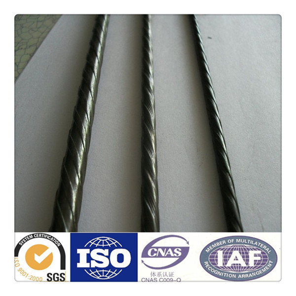 4mm 5mm 7mm pc steel wire spiral pc wire construction steel building rods