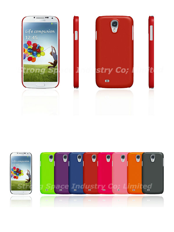 2013 New Arrival for For Samsung S4 case, For galaxy S4 plain case, For galaxy S4 basic case