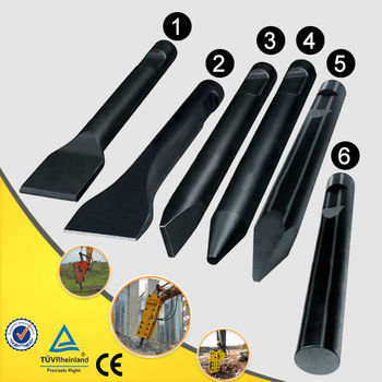 hydraulic hammer cylinder spare parts power hydraulic breaker bits