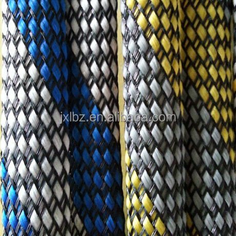 Multi-colored PET Expandable Braided Sleeving Flexible Pipe Cable and Wire Protection Cover/ Socks