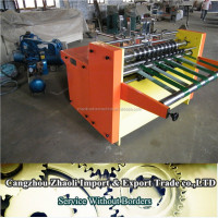 caton box making machine B Series High Speed Auto Clapboard Machine , corrugated automatic partition machine