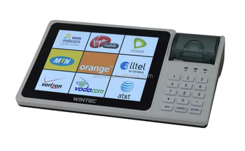 "8"" Android 4.2 All In One POS for Airtime Prepaid Business"
