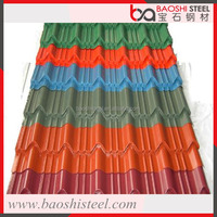 Baoshi Steel corrugated decorative colored metal roofing flashing