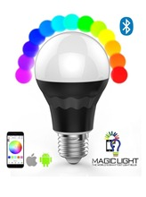 Bluetooth Smart LED Light Bulb - Smartphone Controlled Dimmable Multicolored Color Changing Lights led bulb driver