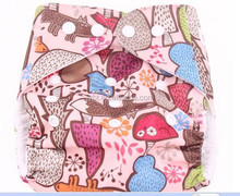CUTE reusable baby washable cloth diaper nappies+INSERT