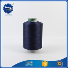 Color ACY high tenacity double spun covered cotton yarn for socks market