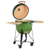 Outdoor BBQ Kitchen Charcoal Chicken Rotisserie Oven