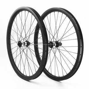 HULKSPORTS 29er carbon mtb wheels 42mm width for Down hill mountain bike DT 350 center lock
