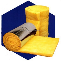 China Supplier Fire Insulated Lowest Price Glass Wool Blanket / Roll with Aluminium Foil