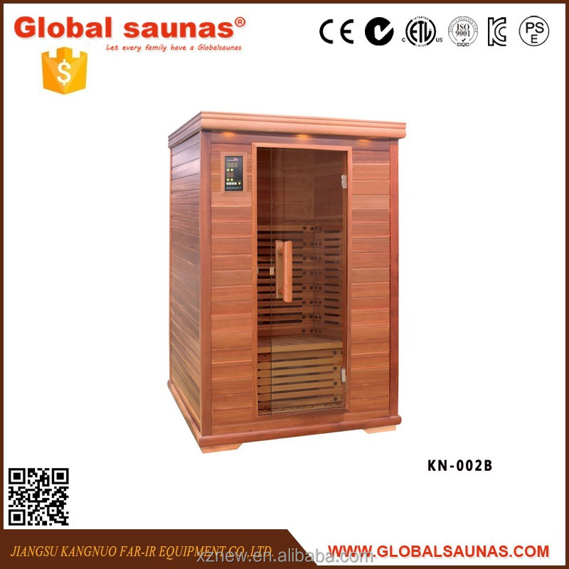 Home far infrared sauna room for two person KN-002B