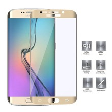 3D full cover tempered glass screen protector for samsung galaxy s6 edge plus