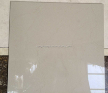 Factory direct price pure white color interior porcelain floor tiles