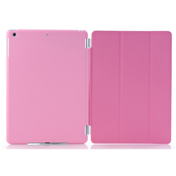 Magnetic Smart cover with Solid Color PC Back Cover whole set for iPad Air