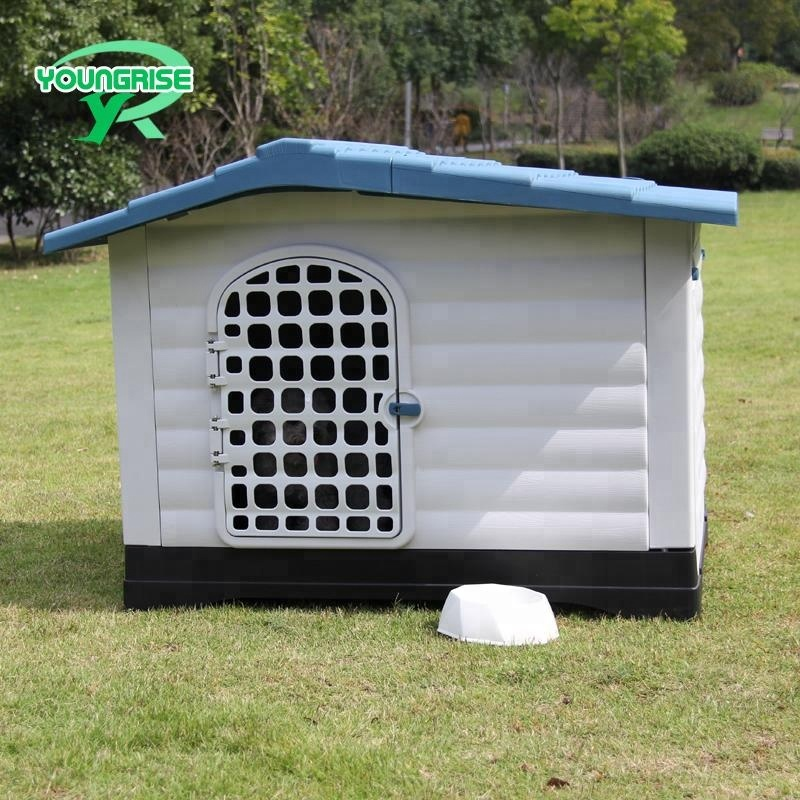 plastic cage kennel lock large pet house for dogs