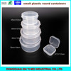 small plastic containers packing box
