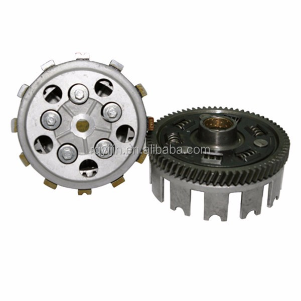 Good quality motorcycle engine parts wet clutch assembly for GF125