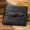 Men Crocodile Genuine Leather Wallet