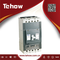 new type high quality 3 poles 4 poles 630A mccb moulded case circuit breaker