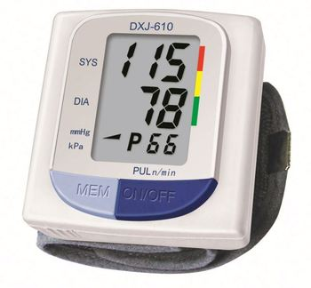 TOP SALE BEST PRICE!! trendy style digital wrist watch blood pressure monitor with good price