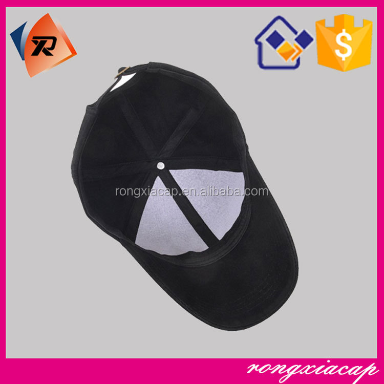 High Quality Custom Embroidered 100% Cotton 6 Panel Cute Minimum Baseball Cap
