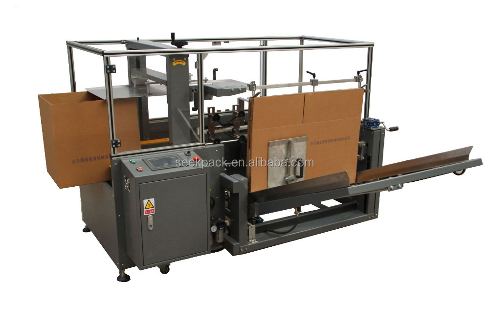 Automation Carton Packing Solution For Carton Opening Machine and Carton Erector