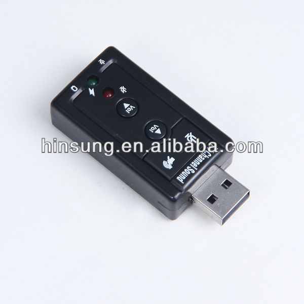 Mini USB sound card