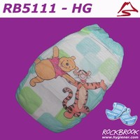 High Quality Good Absorbtion Boys and Girls Disposable Baby Diaper Manufacturer with BD5111from China