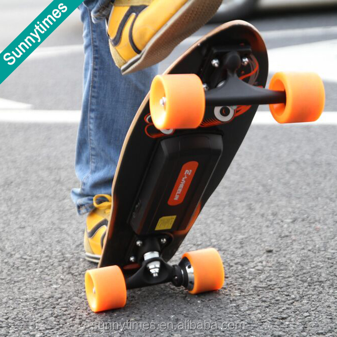 Water proof fastest electric skateboard with brake system evolve longboard skate boards