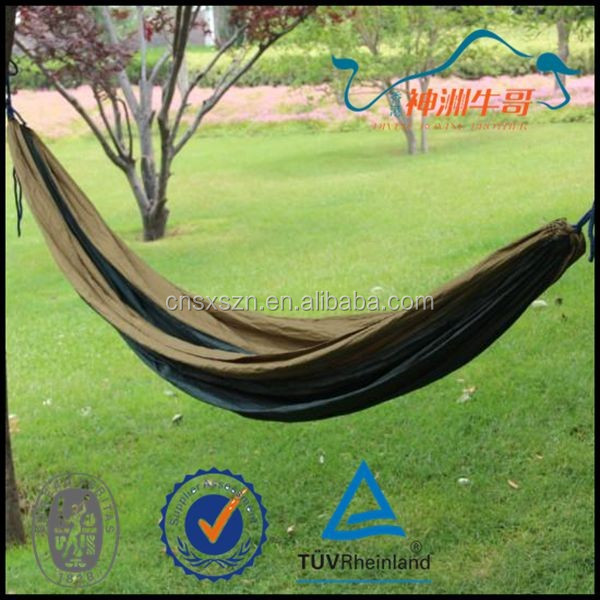 Wholesale camping supplies with Straps,with great Webbing Hammock,camping Hammock